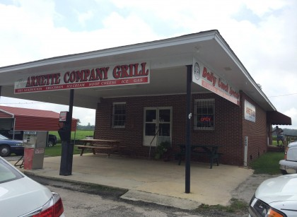 Arnette Company Grill, photo courtesy Arnette Co. Grill's official Facebook page
