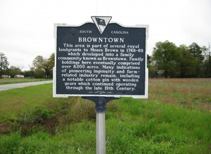 Browntown Sign